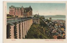 Canada, Quebec, Chateau Frontenac from Terrace Postcard, B249