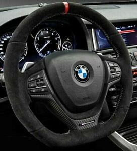 WSWJJXB Compatible with BMW X3 X4 X5 M5 Z4 5 7 Series 2pcs Car Red Steering Wheel Shift Paddle Shift Lever Extension Kit 2019
