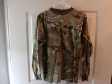 REALTREE Ranger Youth Size XL Camo Long Sleeve T-shirt