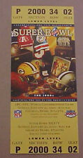 ST LOUIS RAMS VS TITANS SUPER BOWL 34 REPLICA TICKET GREAT FOR FRAMING