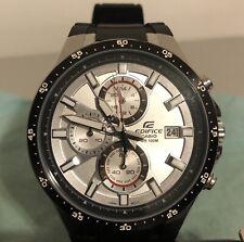 Casio Men's Edifice EFR-519 Chronograph Watch 100 Meter WR, Black Resin
