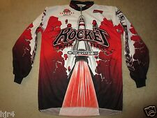 Rocket BMX Team Racing Gordy's Bike Jersey LG L mens