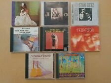8 Latin Jazz CDs Alpert Gilberto Getz Guaraldi Hedman Strunz & Farah