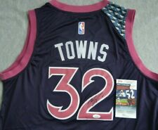 Karl Anthony Towns Autographed Signed Swingman Jersey JSA COA Timberwolves