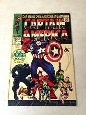 CAPTAIN AMERICA #100 KEY ISSUE, KIRBY, STAN LEE, 1968, BLACK PANTHER, AWESOME