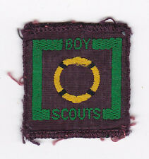 1940's UNITED KINGDOM SCOUTS -  BRITISH SENIOR SCOUT RESCUER Proficiency Badge