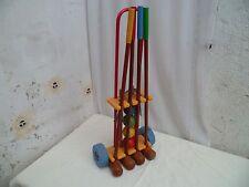 Ancien jeu de croquet pour enfant époque vintage 1975/80