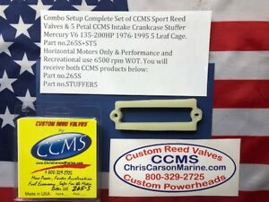 CCMS Mercury Sport Reed & Stuffer Kit V6 135-200HP for 5 Leaf Cages PN.265S+ST5