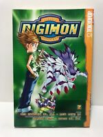 Digimon Vol. 2 by Yuen Wong Yu (2003, Paperback) rare AC Manga graphic Tokyopop