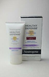 Neutrogena Healthy Defense Daily Moisturizer SPF 50 Sunscreen 1.7 oz skin care