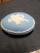 Wedgwood Jasperware Blue Finch Bird Egg 1983