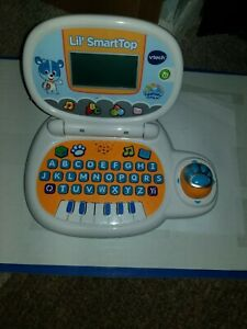 """""""VTech Lil' SmartTop Learning Lodge"""" Laptop Download available Nice condition!"""