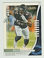 2019 Absolute SPECTRUM BASE #65 KHALIL MACK Chicago Bears