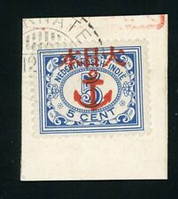 Japanese Occupation: TERNATE with Anchor overprint on 42