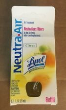 Lysol Neutra Air Scented Oil Refill Citrus 0.71fl.oz