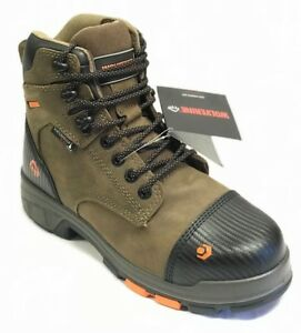 "New Wolverine W10653 Blade LX6"" Composite Toe  Brown Men's Waterproof Work Boots"