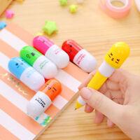 5x Ballpoint Pen Cute Capsule Creative Ballpen School Office Supply Stationery