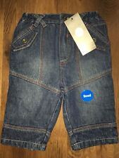 Baby Boy Boys Jeans. New. 3-6 Months. George Collection. BNWT