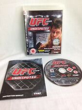 UFC Undisputed 2009 PlayStation 3 Game PS3
