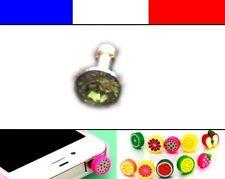 Cache anti-poussière jack universel iphone protection capuchon bouchon Diamant 2