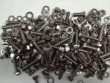 JAGUAR E TYPE - A2 GRADE STAINLESS UNF NUTS BOLTS & WASHERS QTY 450