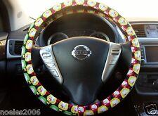 Handmade Steering Wheel Cover Hello Kitty Apples