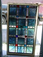 CHURCH ARTGLASS WINDOW +ANTIQUE +CHAPEL + LITURGY+ALTAR