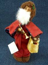 "Byers Choice Caroler 2003 Le Pere Noel 12.5""  NEW w/ Tag Signed (B553)"