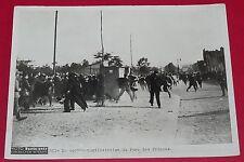 RARE PHOTO PARIS-SOIR 1936 LA CONTRE-MANIFESTATION DU PARC DES PRINCES
