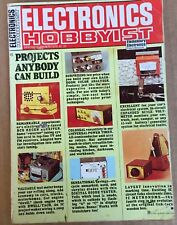 Electronics Hobbyist Spring-Summer 1975 Great projects