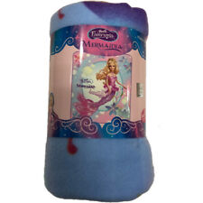 "Barbie Fairytopia Mermaidia Fleece Throw Blanket 50"" x 60"""