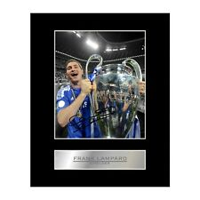 Frank Lampard Signed Mounted Photo Display Chelsea FC