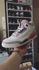"""Nike Air Jordan 3 III-vuelo internacional' ' 'Juego de caridad """"Reino Unido 10/US 11"""