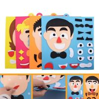 Kids Toy DIY Emotion Change Puzzle Facial Expression Learning Toys for Children
