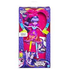 New My Little Pony Equestria Girls Neon Rainbow Rocks Twilight Sparkle Doll