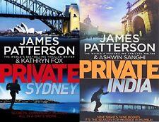 JAMES PATTERSON & ASHWIN SANGHI __ 2 BOOK SET __ BRAND NEW __ FREEPOST UK