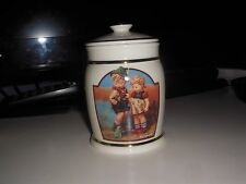 "Hummel Canister Collection "" Timid Little Sister"" Danybury Mint M J Hummel"