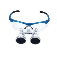 Dental Loupes Surgical Binocular Loupe dental Magnifier Glasses x823 3.5x420mm