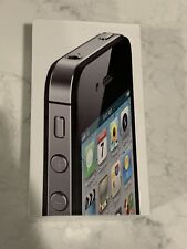 ~~~ BOX ONLY ~~~ Apple iPhone 4s Black