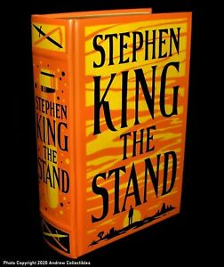 The Stand by Stephen King HARDCOVER Bonded Leather NEW Sealed