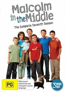 Malcolm In The Middle : Season 7 DVD 3 Disc Set New Sealed Region 4