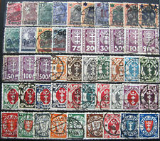 Germany, Danzig, lot of old fine used stamps