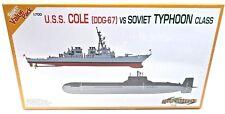 Cyber Hobby USS Cole (DDG-67) vs. Soviet Typhoon Class 1/700 Model Kit  P/N 7107