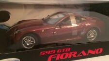 Hotwheels Elite 1:18 Ferrari 599 GTB Fiorano Burgendy