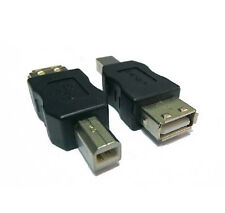 USB Type B Male to USB Type A Female Converter Adapter for Printer