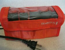 Remington Hot Rollers 10 Curlers with Clips Travel Set Portable Pageant WORKS