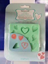 KITCHENCRAFT Easy Press Hearts/Love Fondant/Icing Mould. Cakes/Biscuits/Baking.