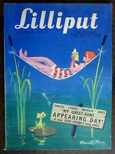 Lilliput British magazine of Humour Art & nudes August 1952 issue