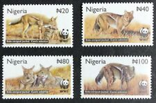 Nigeria - 2003 - Side Striped Jackal - Set & FDCs - Unmounted Mint.