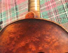 Antique Vintage 100yr Old 4/4 Maggini Violin Pretty 1pc Bird-eye Back